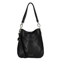 Saben Rebe Black Leather Handbag