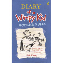 Diary of a Wimpy Kid #02: Rodrick Rules  - Jeff Kinney