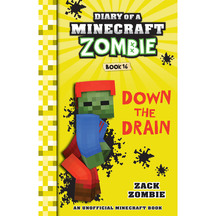 Diary of a Minecraft Zombie #16: Down the Drain  - Zack Z...
