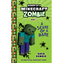 Diary of a Minecraft Zombie #01: A Scare of a Dare  - Zac...