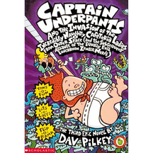 Captain Underpants & the Invasion of the Incredibly Naugh...