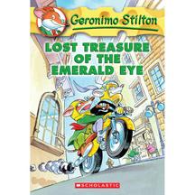 Geronimo Stilton #01: Lost Treasure of the Emerald Eye  -...