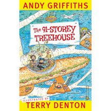 The 91 Storey Treehouse  - Andy Griffiths & Terry Denton