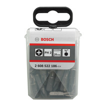 Bosch Extra Hard Screwdriver Bits, 25pcs, PH2