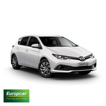 Europcar Toyota Corolla Auto Hatch 1 Day Car Hire