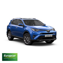 Europcar Toyota RAV4 AWD 1 Day Car Hire