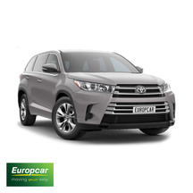 Europcar Toyota Highlander AWD 1 Day Car Hire