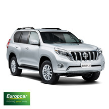 Europcar Toyota Prado 4x4 1 Day Car Hire