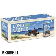 Long White Lemon & Lime 4.8% 10 Pack Cans