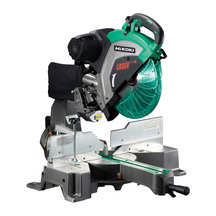 HiKOKI 305mm Slide Compound Mitre Saw with Laser Marker