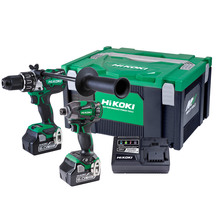 HiKOKI 18V Brushless Combo Kit - Impact Drill Impact Driv...