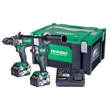HiKOKI 36V Brushless Combo Kit - Impact Drill &  Impact D...