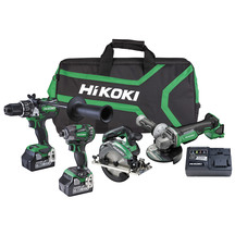 HiKOKI 18V 6.0Ah Brushless 4 Tool Kit