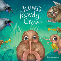 Kuwi's Rowdy Crowd - Kat Merewether