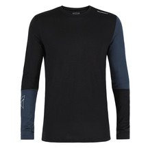 Torpedo7 Men's Glide Long Sleeve Tee Black/Blue