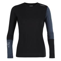 Torpedo7 Women's Glide Long Sleeve Tee Black/Blue