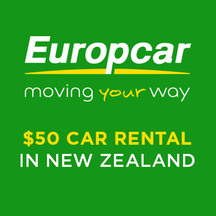Europcar $50 Voucher - New Zealand