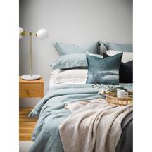 Thread Design ocean linen duvet set with duvet + pillowcases