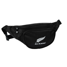 All Black Waist Bag