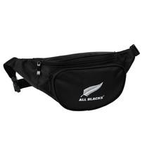 67209 ab6010 all black waist bag
