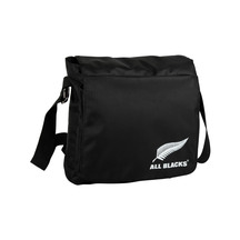 All Black Messenger Bag