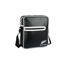 All Black Retro Flight Bag