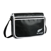 All Black Retro Satchel