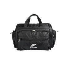 All Black Doctors Overnight Bag