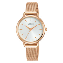 Lorus Ladies Quartz Rose Gold Watch