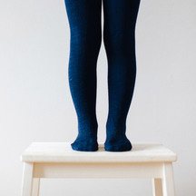 Lamington School Tights - Navy