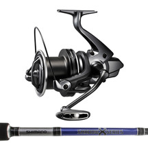 "Shimano Ultegra 14000XSD / Shimano Shadow-X 13'6"" 3pc Rod"