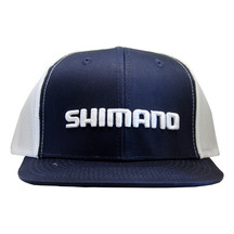 Shimano Corporate Trucker Cap - Navy/White