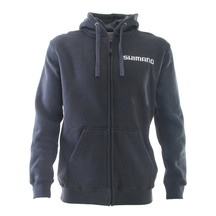 Shimano Zip Up Hoody Charcoal