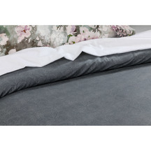 St Remy Charcoal Duvet Set