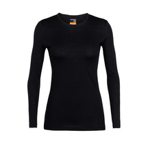 Icebreaker Women's 200 Oasis Long Sleeve Crewe