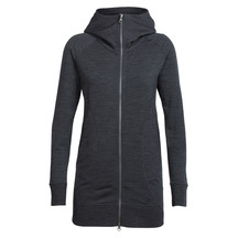 Icebreaker Women's Dia RealFLEECE Long Hooded Jacket