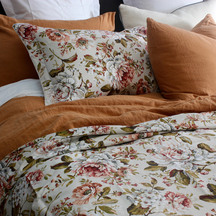 Christy Classic Rose Duvet Cover Set
