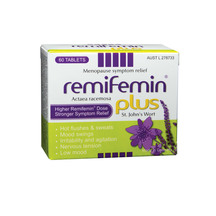 Remifemin Plus St. John's Wort Natural Menopause Support 60s