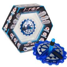 i-Top Meca Gear Blue Digital Spinning Top