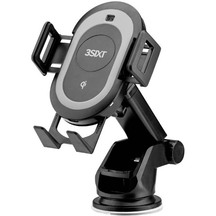 3SIXT 10W Qi Wireless Charging Cradle with Motorised Clamps