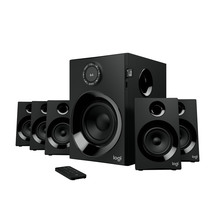 Logitech Z607 5.1 Surround Sound Speaker System with Blue...