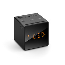 Sony Radio Alarm Clock Black