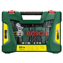 Bosch 83pcs TiN-Drill and Screwdriver Bit Set
