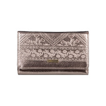 ROXY WALLET JUNO METAL ROSE GOLD