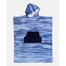 QUIKSILVER HOODY TOWEL BLACK