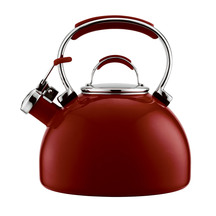 ESSTEELE 1.9L RED STOVETOP KETTLE