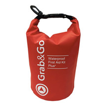 Grab and Go Waterproof First Aid Kit Plus