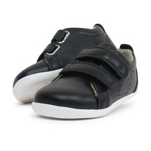 Step Up Grass Court Casual Shoe Black