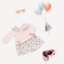 Our Generation Regular Outfit - Balloons Design Outfit