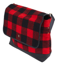 Swanndri Wool Messenger Bag